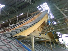 寺院建築の屋根
