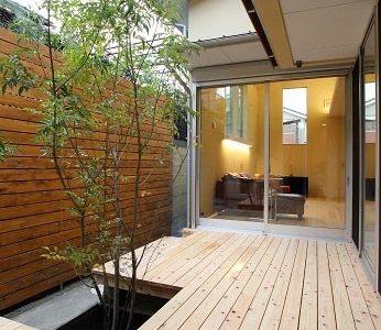 紫竹 中庭のある家 完成です