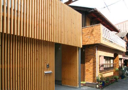 大津 路地の家