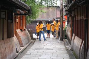 建築と子供たち in KYOTO