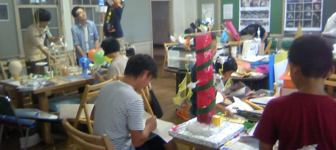 建築と子供たち in KYOTO 2012