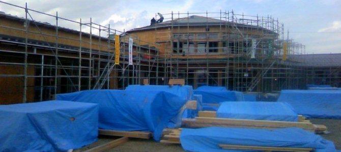 木造保育園の構造見学会